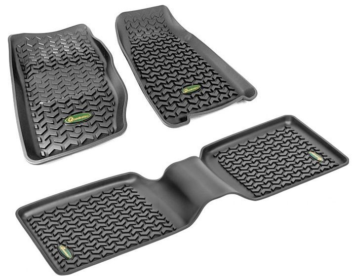 Quadratec® | Ultimate All Weather Floor Liner Kit | For 84-01 Jeep® Cherokee XJ