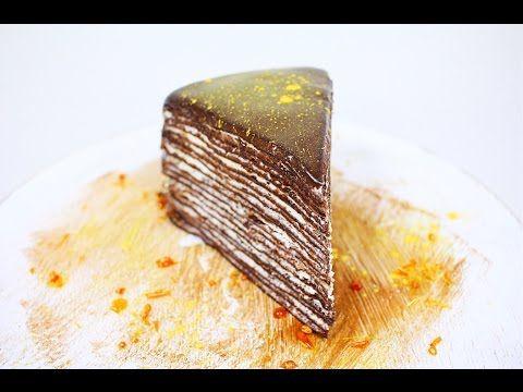 Блинный Шоколадный Торт / Crepe Chocolate Cake - YouTube