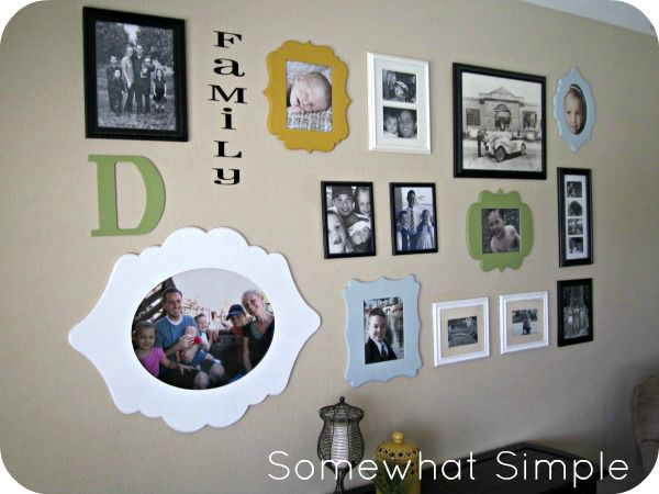 Scrolling Frame Photo CollageRoom Photos, Photos Ideas, Photos Collage, Scrolls Frames, Families Photos, Families Room, Collage I, Frames Photos, Photo Collages