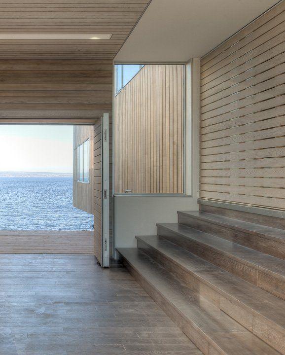 rain screen | Two Hulls House by MacKay-Lyons Sweetapple Architects