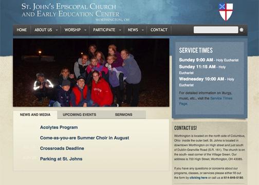 St. John's Worthington Church Website