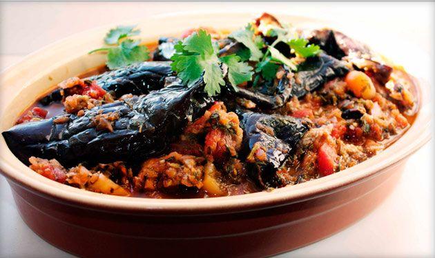 Аджапсандал: рецепт грузинского блюда с мясом и без, на сковороде, в духвке, мультиварке или на костре