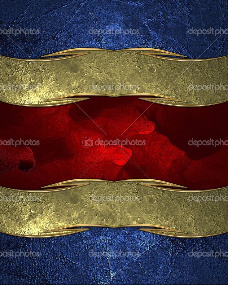 Astratta blu texture con piastra rigata e rossa. modello di struttura per il testo — Immagini Stock #42705419
