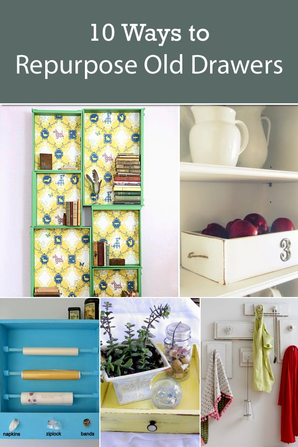 10 Kitchen And Home Decor Items Every 20 Something Needs: 10 Ways To Repurpose Old Drawers