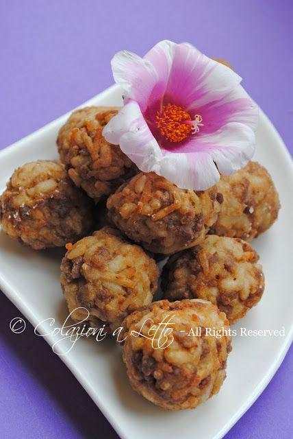 Los muslos de la dama (Kadin Budu Kofte): es decir, bolas de arroz y carne turca …   – aperitivo