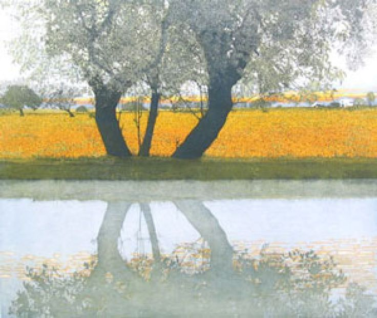 Reflections Etching by Phil Greenwood