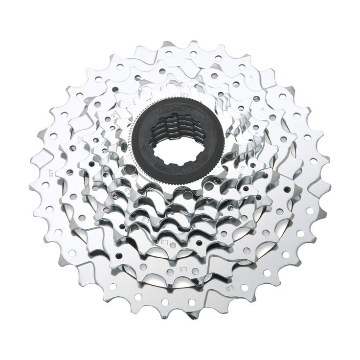 This PowerGlide II 8-speed all-steel cassette is powered with chrome plate sprocket. It ishighly reliable in all types of trails.