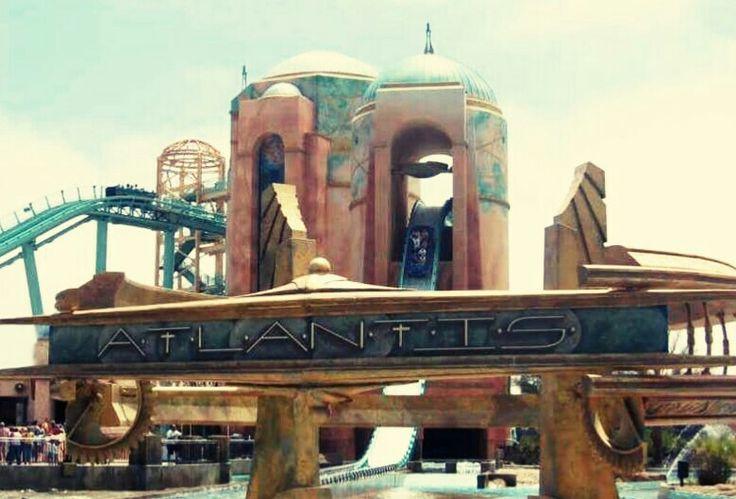 Journey To Atlantis - SeaWorld San Diego - USA (2004) - Steel Water Coaster