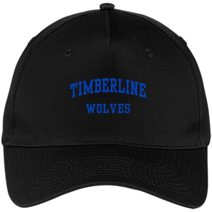 Timberline High School Five Panel Twill Cap - SpiritShop.com