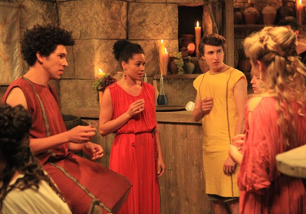 Plebs has been named Best New Comedy Programme at this year's British Comedy Awards.  The ITV2 series, which focusses on the lives of terrible trio Marcus (Tom Rosenthal), Stylax (Joel Fry) and Grumio (Ryan Sampson) in Ancient Rome, beat BBC Two's Count Arthur Strong, BBC Three's Cuckoo and Sky Arts sketch show Psychobitches.