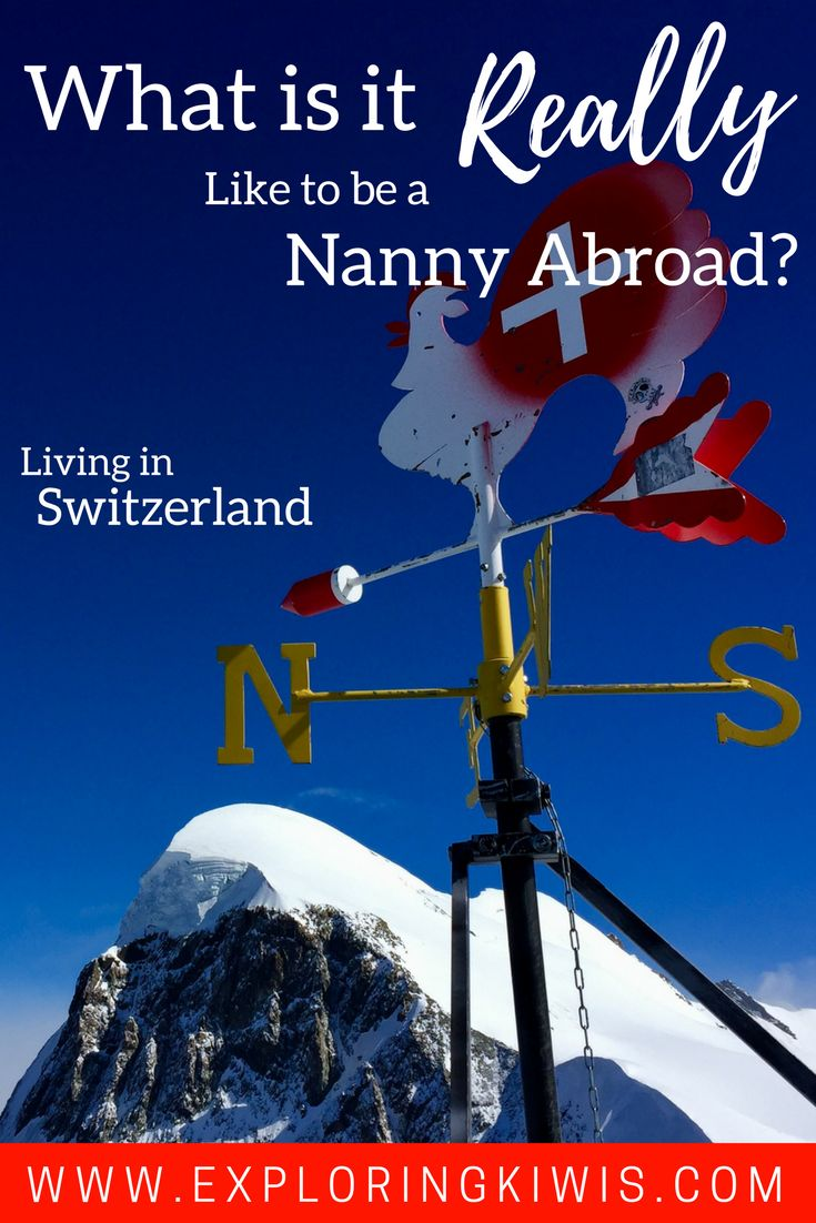 Maria shares her honest thoughts on the challenges and amazing benefits of nannying abroad in Switzerland.  What an adventure!
