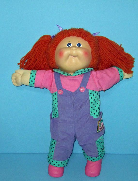 Cabbage Patch Kids VHTF Head mold 30 Red Head Girl Hasbro