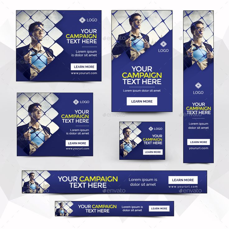Multipurpose Banners Bundle - 10 Sets - 176 Banners by doto | GraphicRiver