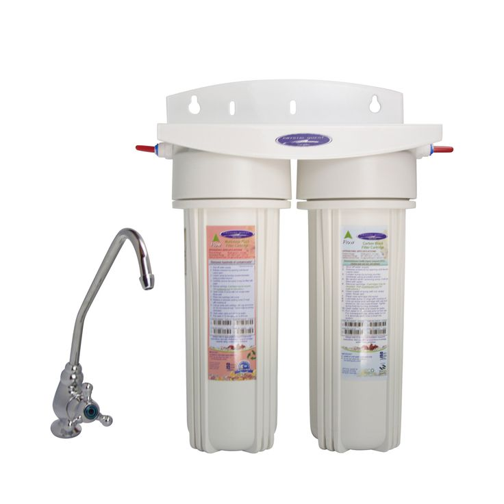 SMART Double Under Sink Water Filter System