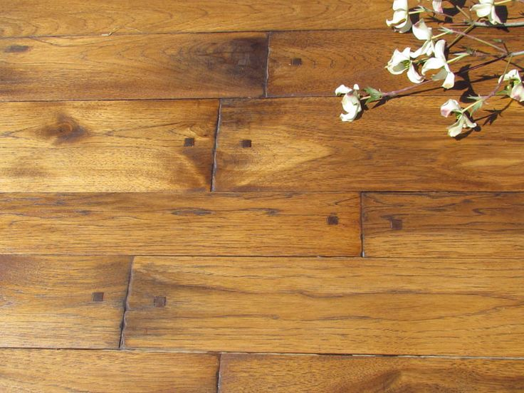Peg Hardwood Flooring Squared Peg Distressed Hickory