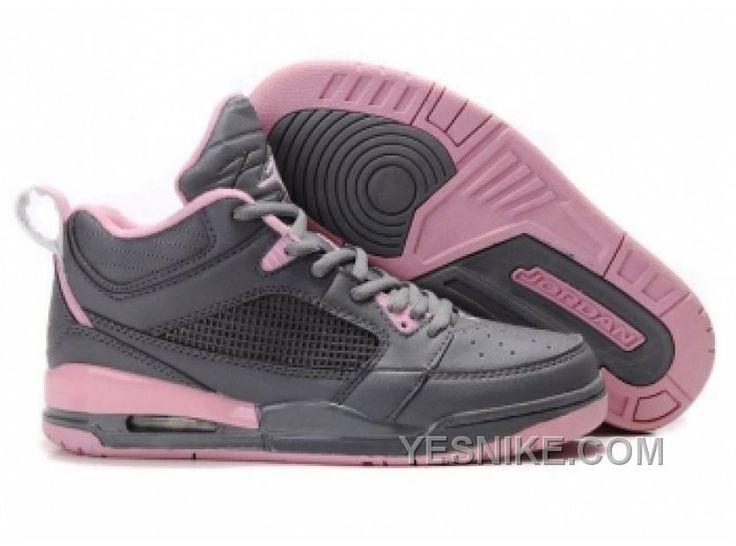Air Jordan 3+4 Pour Femme Gris/Rose McPHW