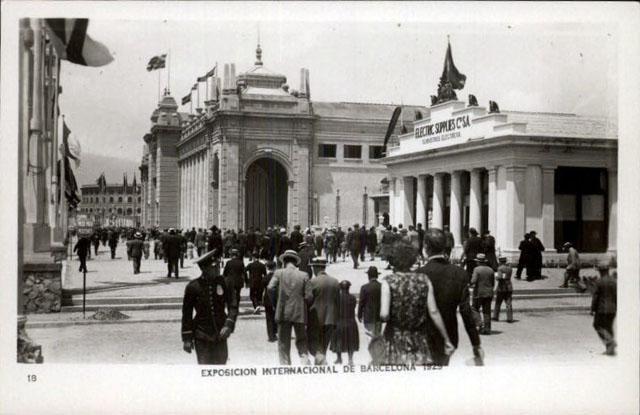 #Barcelona 1929 #Expo #Expo2015 #EUExpo2015 #ExpoVintage