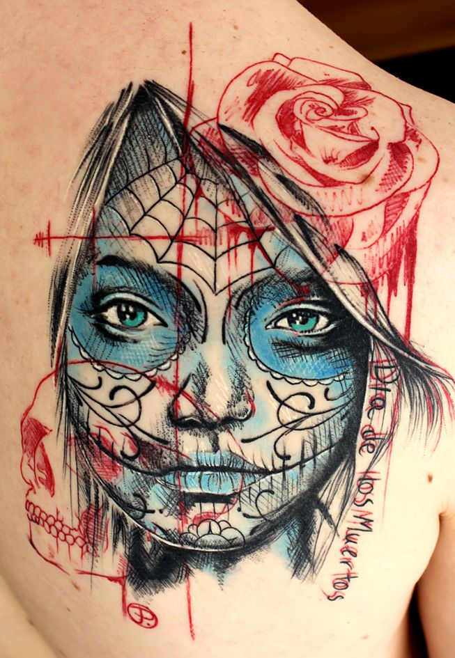 Today's artist on display is Jacob Pedersen. Check out this guy's awesome tattoos!