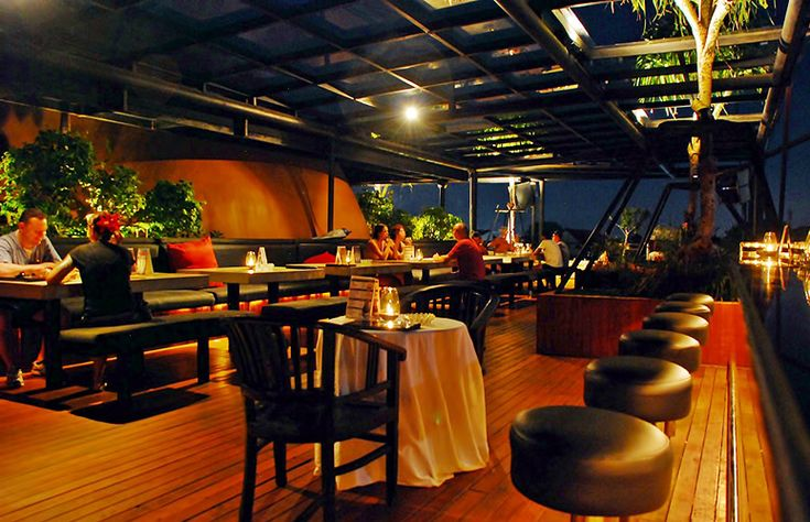 Sky garden, Legian, Bali. While others may charge for the privilege of their lofty environment,Skygarden invites anyone and everyone for an evening of eating, drinking and merrymakng on a gorgeous rooftop.  And for all these, you just need to fork out USD$5 for an all-you-can-eat BBQ smorgasbord, paired with free-flowing Bintang beer and a great DJ line-up. What more can you ask for