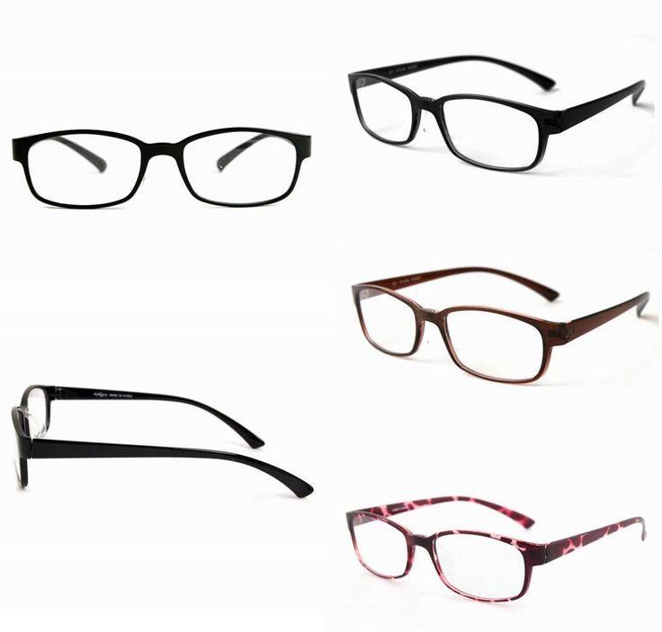 Women Men Glasses TR90 Full Rims Eyeglasses Clear Lens Vintage Spectacles T17 #EYELUCY