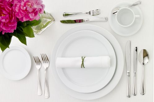 How to set a table properly - PartySavvy Blog