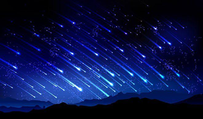 Картинки по запросу метеоритный дождь hd