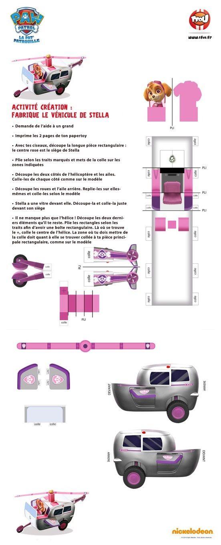 (2 fichiers pdf à télécharger séparément) (site, imprimable et textes en français)