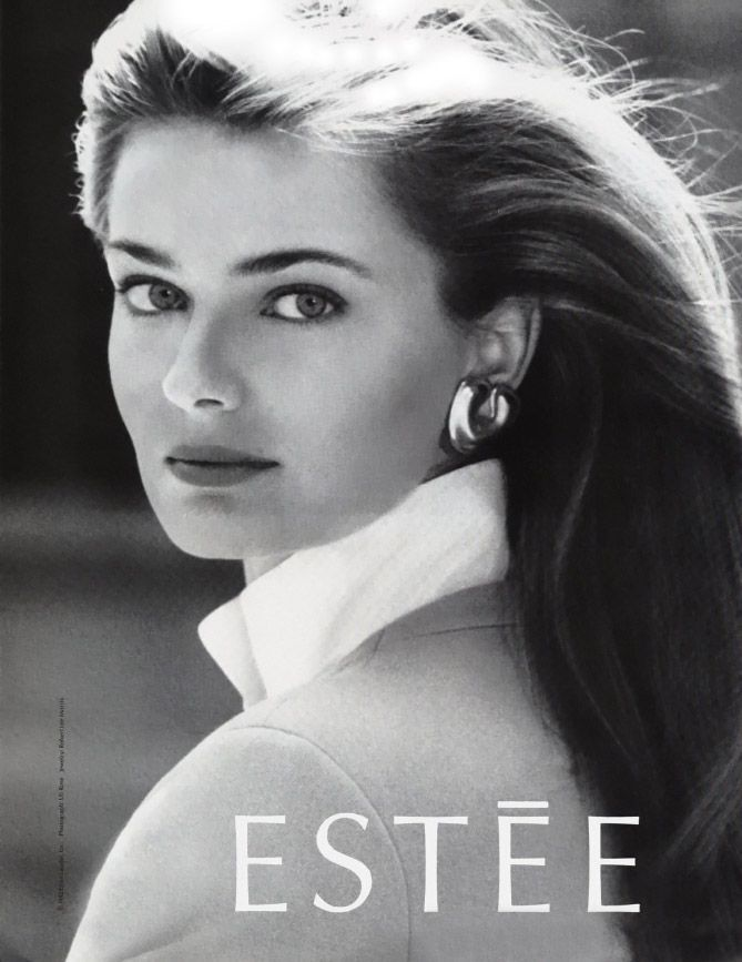 In 1988, Czech born model Paulina Porizkova landed a six million dollar contract with Estee Lauder, the largest contract signed by a model up to that time.