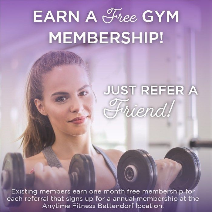New The 10 Best Home Decor With Pictures Earn A Free One Month Gym Membership By Referring A Friend Free Gym Membership Gym Membership Anytime Fitness