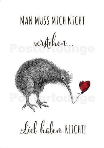 Lieb Haben Kiwi - © ABOUKI Art Factory - Bildnr. 593090