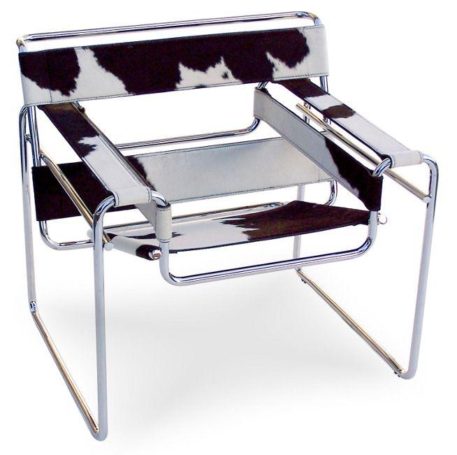 Cadeira Wassily (1925) de Marcel Breuer