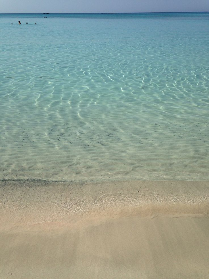 Crete, pinkie sandy beach, Elafonisi