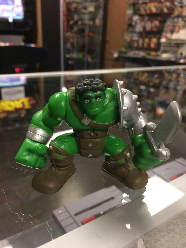 Super Hero Squad King Hulk 2008 Marvel Hasbro