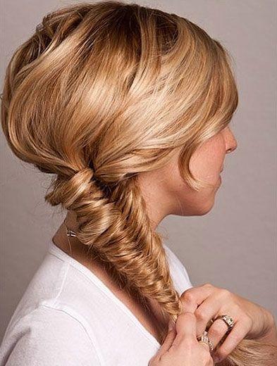 Fajne fryzury dla długich włosów, Upięcia z długich włosów