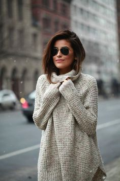 Cozy sweaters are a must for fall!