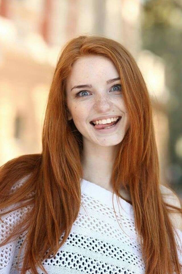 Anal pale redhead