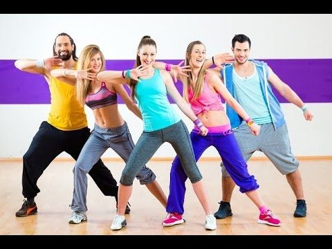 Zumba Dance Workout Fitness For Beginners • Step By Step - YouTube