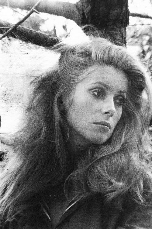 Catherine Deneuve, photographed by David Bailey, 1968.