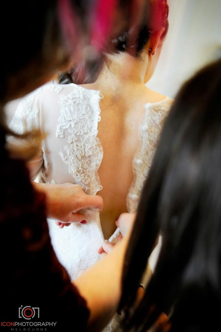 Back Lace Detail - Wedding Dress
