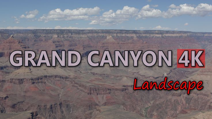 Ultra HD 4K Grand Canyon Arizona USA Travel Beautiful American Landscape Day UHD Video Stock Footage