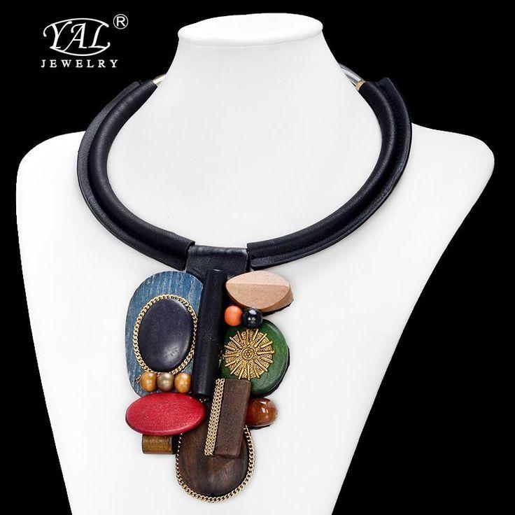 Классический себе ожерелье с короткой цепью ссылка ворота чокеровщика смолы камень леди ожерелья k56купить в магазине My style-YAL jewelryнаAliExpress
