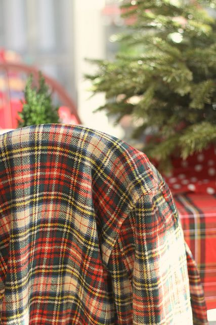 tartan at Christmas...