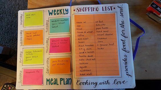 proiettile idee pianificazione del pasto ufficiale