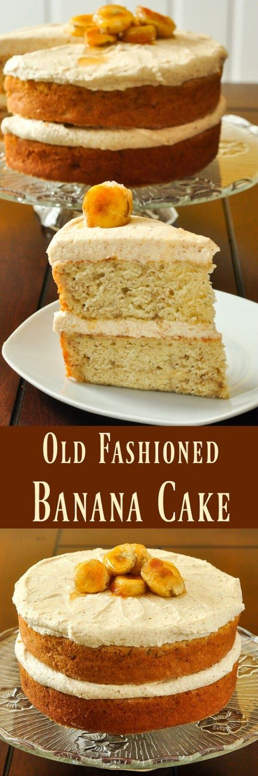 Banana Cake with Brown Butter Frosting | Food And Cake Recipes