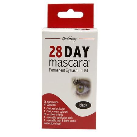 Godefroy 28 Day Mascara Permanent Eyelash Tint Kit - 1 kit