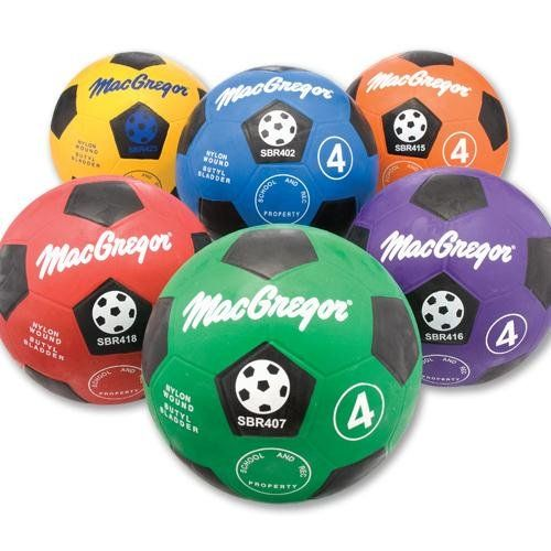 MacGregor Rubber Soccer Ball Orange Size 4 ** Visit the image link more details. Note:It is affiliate link to Amazon.