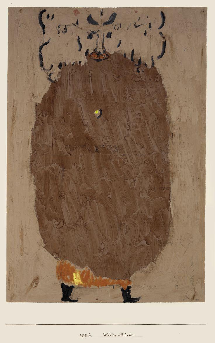 Paul Klee: Wüsten räuber, 1938.