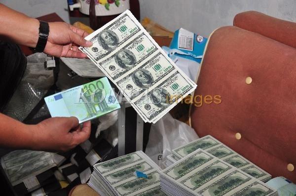 Uang palsu terkait sindikat pengedar narkoba.