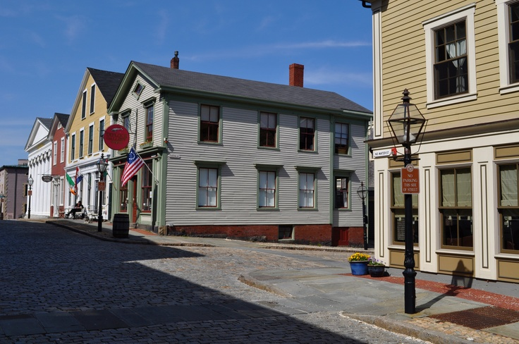 North Water Street, New Bedford #massachusetts #travel  Photo Credit: Tim Grafft