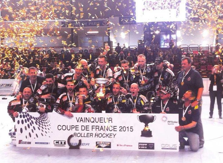 22 best images about roller hockey mission bauer on pinterest coupe the california and wheels - Final coupe de france hockey 2015 ...